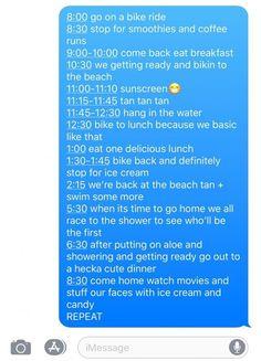 Trendy funny texts to boyfriend breakup dr. who ideas Cute Relationship Goals, Cute Relationships, Summer Dream, Summer Fun, Summer Bucket List For Teens, Summer Paradise, Summer Things, Summer Feeling, Summer Vibes