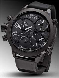Welder 8003 K24 Black Watch - The Coolest Watches from Watchismo.com