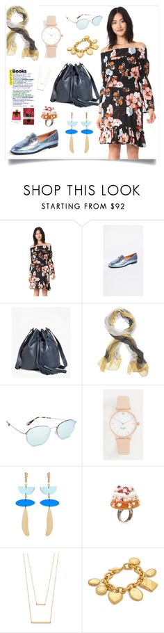 """Off The Shoulder Dress..**"" by yagna on Polyvore featuring Brooks Brothers, Les Délices de Rose and Ben-Amun"