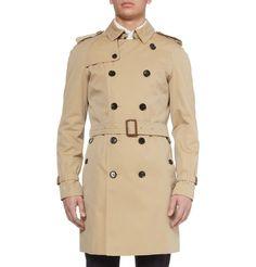 Burberry LondonCotton-Gabardine Trench Coat|MR PORTER