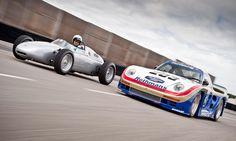 1960 Porsche 718 F2 & 1986 Porsche 961 IMSA GTX