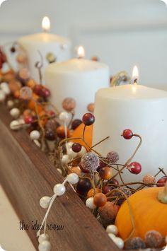 Fall DIY ideas/ wreaths, centerpieces and garlands
