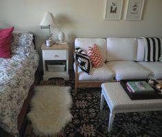 Studio Apartment via Tiffany Leigh Interior Design. #bedroom #home #decor #furniture