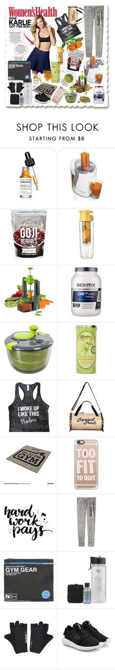 """2017: Get Healthy!!"" by alrdesign ❤ liked on Polyvore featuring Bobbi Brown Cosmetics, Hamilton Beach, HIPSTER HEALTH, Tower, Miss Selfridge, Casetify, Victoria's Secret, Flight 001, Reebok and adidas Originals"