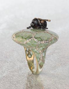 Bee ring by Ilgiz Fazulzyanov.