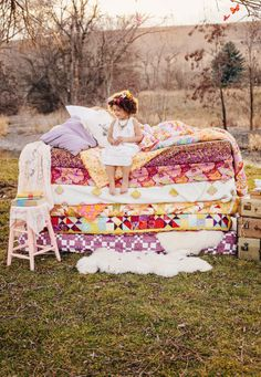Pretty sure if I ever have a little girl I need to do a Princess in the Pea photoshoot!