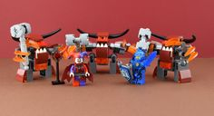 https://flic.kr/p/P1cKS2 | LEGO Nexo Knights monster | Hello LEGO fans, it's Alex here ! Today I go to Toys R us and I get 3 exclusive monsters. There are no exclusive parts but very special parts !! This event is only in France only at Toys R us ! I take more pieces because I love LEGO !!! Original picture by me