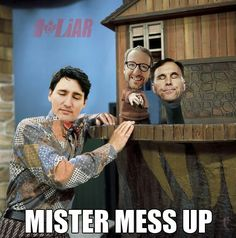 Words For Stupid, Funny Pics, Funny Pictures, The Twits, Finding Jesus, O Canada, Political Memes, Justin Trudeau, Happy Thursday