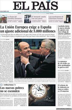 Esas tapas que dicen todo...La dura realidad económica en Españap.