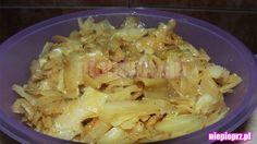 Biała kapusta na ciepło Nasu, Cabbage, Favorite Recipes, Vegetables, Food, Essen, Cabbages, Vegetable Recipes, Meals