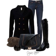 """equestrian chic"" i supposed that is a good description lol Fall Winter Outfits, Autumn Winter Fashion, Winter Chic, Fashion Now, Womens Fashion, Weekend Fashion, Equestrian Chic, Equestrian Fashion, Traje Casual"