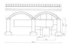 Wicker Arches Elevation