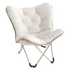 Simple By Design Memory Foam Butterfly Chair Can get butterfly chair covers Dorm Chairs, Retro Dining Chairs, Living Room Chairs, Blue Chairs, Metal Chairs, Accent Chairs, White Chairs, Beach Chairs, Office Chairs