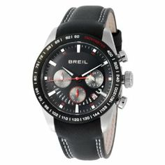 Breil Milano Men's TW0678 Speed One Analog Black Dial Watch Breil. $244.00. Japanese Quartz chronograph time module VD53. Water-resistant to 660 feet (200 M). 3-hand chronograph movement with luminous hands and date window. Limited lifetime warranty. High grade stainless steel case, screw-down case back and genuine leather strap