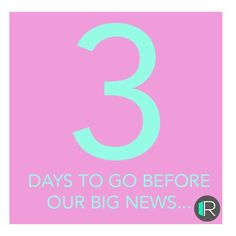 Look out for our exciting news.3 days from today!  Stay tuned http://ift.tt/2lTKg4Z . . #rangeroom #b2b #RoomiesReveal  #Industryexcellence  #TechTastic  #StartUpCelebrations  #WatchThisSpace #3MagicNumber  #RangeRoomJourney  #FashionRetail  #LookOut #Sharing=Caring #connect #collaborate #trade