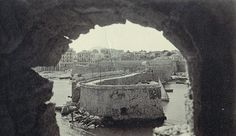 Heraklion, Old Maps, Vintage Photos, Grand Canyon, The Past, Walls, Memories, Black And White, City