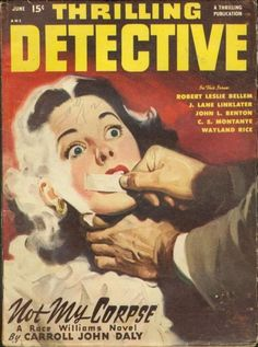Image result for detective pulp