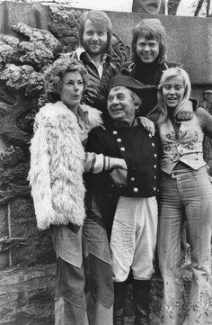 ABBA in Denmark 1974.