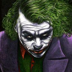 Joker digital paint #Photoshop #retrato #portrait #quadro #evil #mad #madness #clow #palhaço #maluco #dc #comics #coringa #batman #quadrinhos #gibi #pintura #maluco #psicótico #louco #picofday #instagood #instapiv