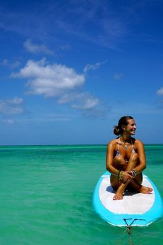 SUP yoga in Aruba :) sounds just right for me
