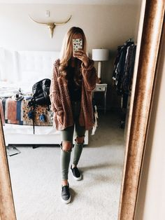 How to wear fall fashion outfits with casual style trends Mode Outfits, Trendy Outfits, Fashion Outfits, Womens Fashion, Fashion Fashion, Outfits 2016, Fashion Ideas, Fashion Trends, Fall Winter Outfits