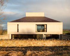 "2012 Winner of the Irish Architecture Awards for ""Best House"" Houses Architecture, Architecture Awards, Residential Architecture, Contemporary Architecture, Vernacular Architecture, Ireland Homes, House Ireland, Rural House, Wallpaper Magazine"