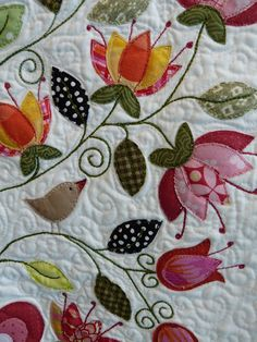 more lovely applique!