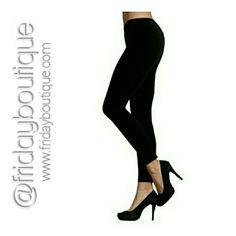 Black - Fleece Lined Leggings - New in Package New in Package. One size fits most Pants Leggings