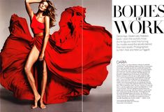 Bodies of Work by Mert & Marcus for Vogue US April 2011