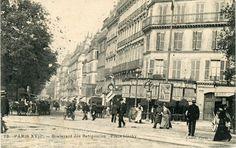 Boulevard des Batignolles.