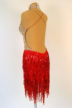 Latin and Rhythm Ballroom Dresses