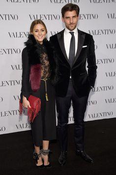 Olivia Palermo and Johannes Huebl Photos - Valentino Sala Bianca 945 Event - Arrivals - Zimbio