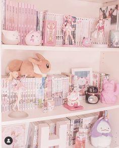 Cute Room Ideas, Cute Room Decor, Pastel Room, Pink Room, Kawaii Bedroom, Otaku Room, Gaming Room Setup, Game Room Design, Gamer Room