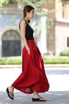 Hey, I found this really awesome Etsy listing at https://www.etsy.com/listing/189045316/wrap-skirt-women-skirts-linen-skirt-long