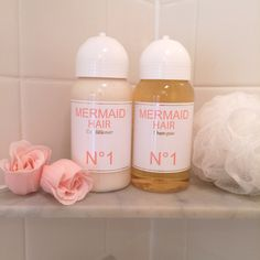 Best hair products of all time! Mermaid Hair - Orange blossom & Coconut.