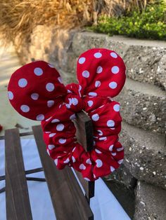 Excited to share this item from my shop: Red and White Polkadot Mickey Mouse Scrunchie Cute Headbands, Diy Headband, Cute Crafts, Diy Crafts To Sell, Mickey Ears, Mickey Mouse, Diy Hair Scrunchies, Cute Love Wallpapers, Little Cherubs