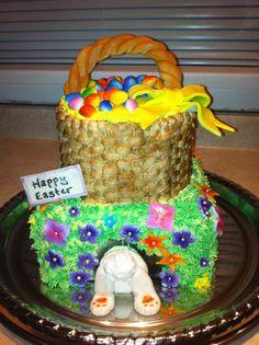 An Easter cake I made;)