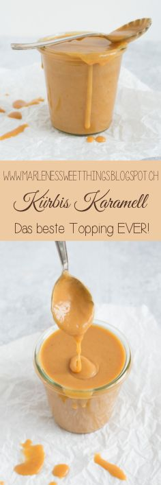 Kürbis Karamell Sauce - Pumpkin Caramel Sauce