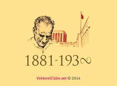 Vektörel Çizim   Atatürk Silüeti, Anıtkabir
