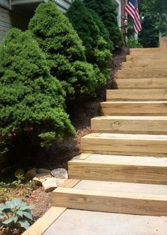 When we moved into our home two years ago we knew we needed to fix the stairs and walkway that came off the driveway to the back patio of the house. The stairs…