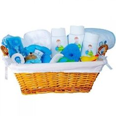 Cesta al Agua Pato, una canastilla para bebé de excelente calidad, ideal para su primer baño, un regalo único y original. Envíos a toda España