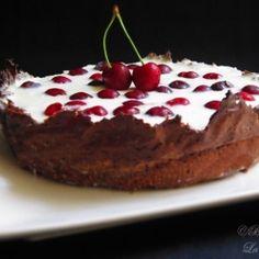 Yogurt cherry tart by rhapsody