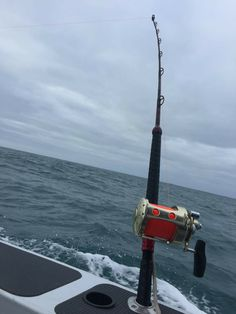 "24kg   ""GT Red Storm Series"" On Alex Kings Boat  Australia @ Apollo Bay during a tuna fishing competition 🎣🎣🎣"