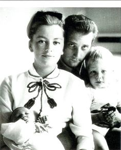 King Albert II, Queen Paola, Crown Prince Philippe, and Princess Astrid of Belgium