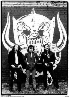 Motorhead-Harrow Rd 1979 Láminas en AllPosters.es