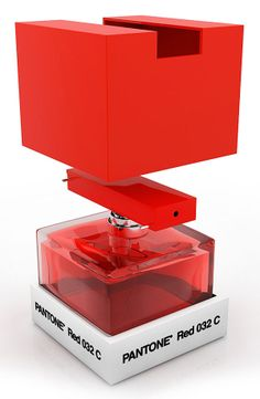 Perfume Pantone by designer Ron Hahn | vía @designals | #packaging #design