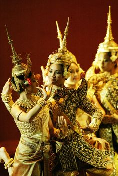 Dancers from Cambodia