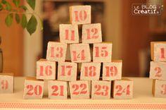 Un calendrier de l'Avent DIY avec du carton et du papier, recyclable et écolo en plus :)