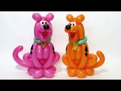 Scooby-Doo the dog from balloons - twisting tutorial (Subtitles) Balloon Toys, Balloon Animals, Animal Balloons, Scooby Doo Mystery Incorporated, How To Make Balloon, Christmas Deco, Christmas Ornaments, Balloon Modelling, Party