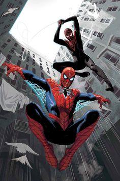 Spider-Men II (2017) #1 Variant by Daniel Acuña